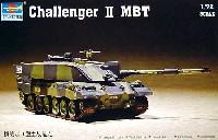 トランペッター1/72 AFVシリーズイギリス陸軍 チャレンジャー2