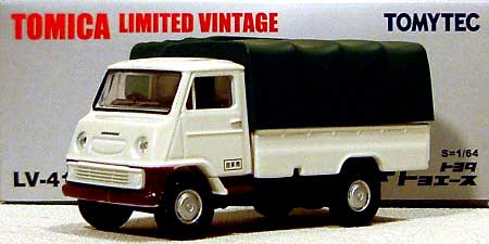 トヨタ トヨエース (青)ミニカー(トミーテックトミカリミテッド ヴィンテージNo.LV-041b)商品画像