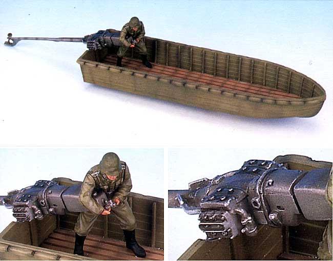 WW2 ドイツ 突撃船艇 w/ 突撃工兵(パイオニア)プラモデル(ドラゴン1/35 '39-'45 SeriesNo.6108)商品画像_1