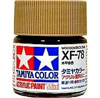 タミヤタミヤカラー アクリル塗料ミニ木甲板色 (XF78)
