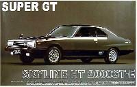 アオシマ1/24 ザ・スカイラインスカイライン HT 2000GT-E スーパーGT カンパニョーロ・スペシャル'79