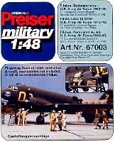 米陸軍航空隊パイロット & グランドクルー (12体)