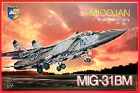 コンドル1/72 航空機モデルMig-31BM フォックスハウンド迎撃機