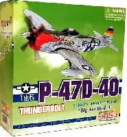 P-47D-40 サンダーボルト ビッグアス バード 2 (513th FS 406th FG 9th AF)