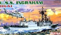 ドラゴン1/700 Modern Sea Power SeriesU.S.S. イングラハム FFG-61