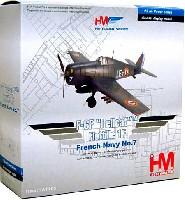 F-6F ヘルキャット Flottille 1F フランス海軍 No.7