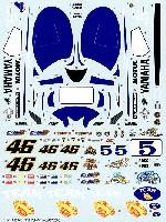 スタジオ27バイク オリジナルデカールヤマハ YZR-M1 Moto GP 2006 スペアデカール (トランスキット対応)