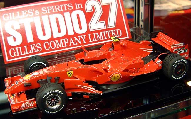 フェラーリ F2007レジン(スタジオ27F-1 オリジナルキット (スタンダードシリーズ)No.FR2026)商品画像_1