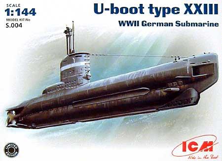 Uボート タイプ23型 (WW2)プラモデル(ICM1/144 シップ&ボートNo.S.004)商品画像