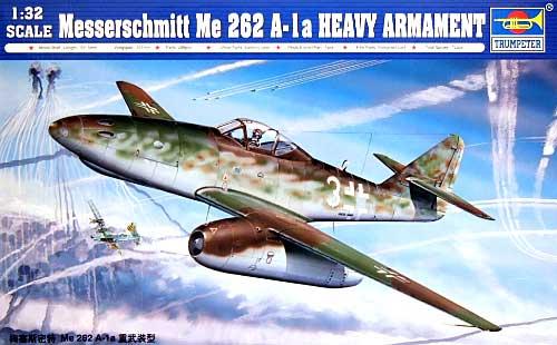 メッサーシュミット Me262A-1a 重武装型プラモデル(トランペッター1/32 エアクラフトシリーズNo.02260)商品画像