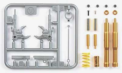 カワサキ ニンジャ ZX-RR フロントフォークセットメタル(タミヤディテールアップパーツシリーズ (オートバイモデル用)No.12619)商品画像_1