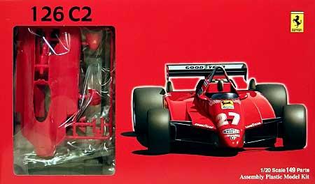 フェラーリ 126C2 1982 サンマリノプラモデル(フジミ1/20 GPシリーズNo.旧GP001)商品画像