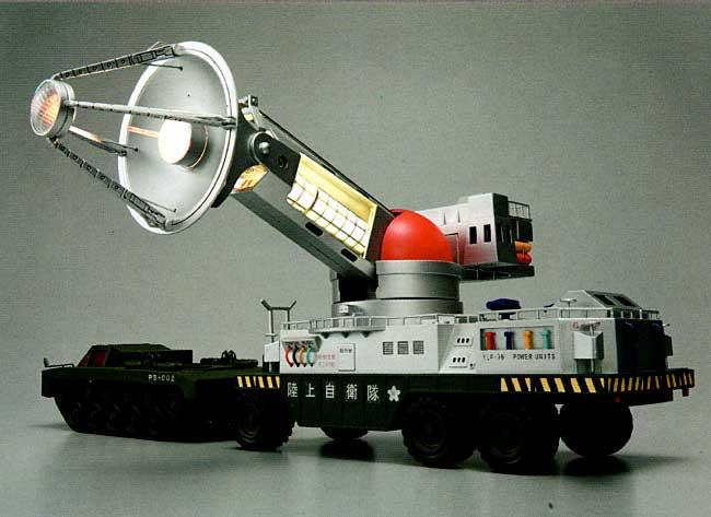 陸上自衛隊 70式 メーサー殺獣光線車 (地球破壊指令 ゴジラ対ガイガン)完成品(ミラクルハウス新世紀合金No.SGM-023)商品画像_2