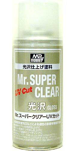 Mr.スーパークリアー UVカット (光沢) (スプレー)スプレー(GSIクレオスMr.スーパークリアーNo.B-522)商品画像