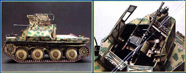 Sd.Kfz.140/1 38(t)偵察戦車プラモデル(イタレリ1/35 ミリタリーシリーズNo.6448)商品画像_1