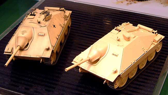 ドイツ駆逐戦車 ヘッツァー 中期生産型プラモデル(タミヤ1/35 ミリタリーミニチュアシリーズNo.285)商品画像_1