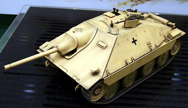 ドイツ駆逐戦車 ヘッツァー 中期生産型プラモデル(タミヤ1/35 ミリタリーミニチュアシリーズNo.285)商品画像_2