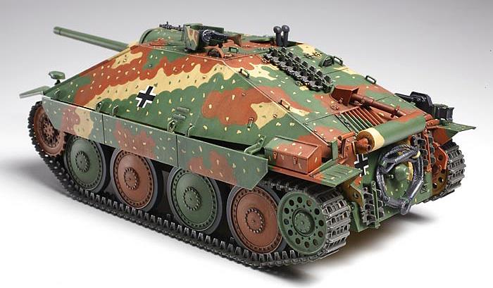 ドイツ駆逐戦車 ヘッツァー 中期生産型プラモデル(タミヤ1/35 ミリタリーミニチュアシリーズNo.285)商品画像_3
