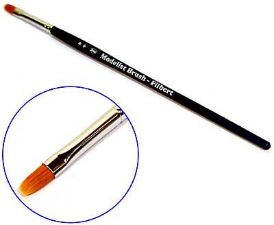 フィルバート筆 #4 (0.5×1.0cm)筆(アシーナラヴィア フィルバート 7500 シリーズNo.D1075-0004)商品画像
