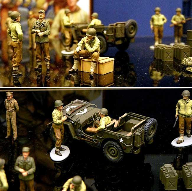 アメリカ歩兵 前線休息セットプラモデル(タミヤ1/48 ミリタリーミニチュアシリーズNo.052)商品画像_1