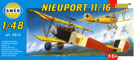 ニューポール 11/16プラモデル(スメール1/48 エアクラフト プラモデルNo.0814)商品画像
