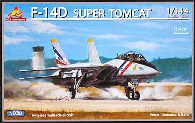 F-14D スーパートムキャットプラモデル(エース コーポレーション1/144 エアクラフトNo.旧1030)商品画像