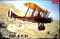 ローデン1/48 エアクラフト プラモデルRAF B.E.2c 複葉複座偵察・軽爆撃機