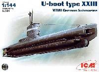 ICM1/144 シップ&ボートUボート タイプ23型 (WW2)