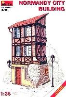 ミニアート1/35 ビルディング&アクセサリー シリーズノルマンディーの都市の建物