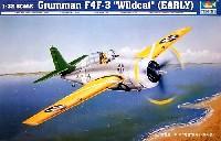トランペッター1/32 エアクラフトシリーズグラマン F4F-3 ワイルドキャット (初期型)