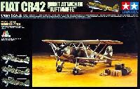 タミヤ1/48 飛行機 スケール限定品フィアット CR42 夜間爆撃機 ドイツ空軍