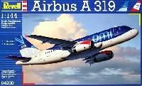レベル1/144 旅客機エアバス A319 BMI航空