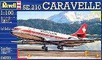 レベル飛行機モデルSE.210 カラベル