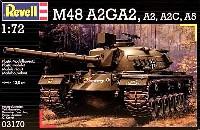 レベル1/72 ミリタリーM48 A2GA2 /A2/A2C/A5