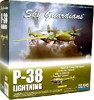 ウイッティ・ウイングス1/72 スカイ ガーディアン シリーズ (レシプロ機)P-38 ライトニング DRAGON TAIL