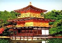 鹿苑寺 金閣寺 (屋根茶色塗装仕様)