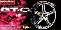 アオシマ1/24 Sパーツ タイヤ&ホイールボルクレーシング GT.C (19インチ)