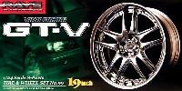 アオシマ1/24 Sパーツ タイヤ&ホイールボルクレーシング GT-V (19インチ)
