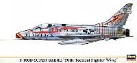 ハセガワ1/72 飛行機 限定生産F-100D スーパーセイバー 第20戦術戦闘航空団