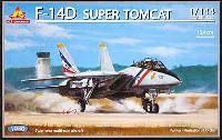 エース コーポレーション1/144 エアクラフトF-14D スーパートムキャット