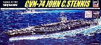 ピットロード1/700 スカイウェーブ M シリーズアメリカ海軍 ニミッツ級航空母艦 CVN-74 ステニス (クリアー甲板付)