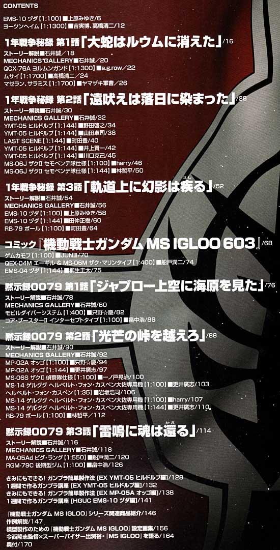 MS IGLOO編本(ホビージャパンGUNDAM WEAPONS (ガンダムウェポンズ)No.68143-10)商品画像_1