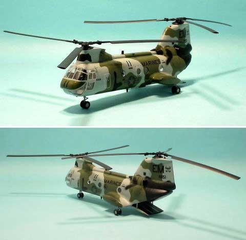 CH-46F シーナイト Too Cool完成品(イージーモデル1/72 ウイングド エース (Winged Ace)No.37003)商品画像_1