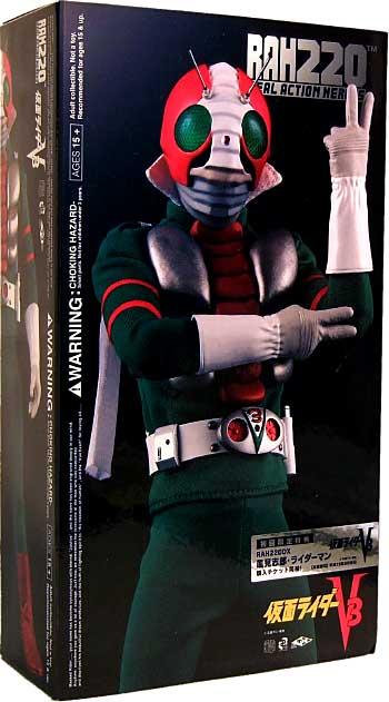 仮面ライダー V3 (初回限定特典付)フィギュア(メディコム・トイRAH220)商品画像