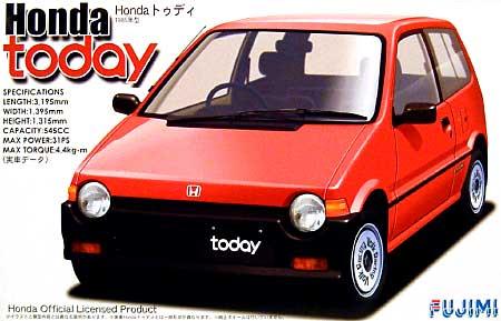 ホンダ トゥディ G (1985年型)プラモデル(フジミ1/24 インチアップシリーズNo.012)商品画像