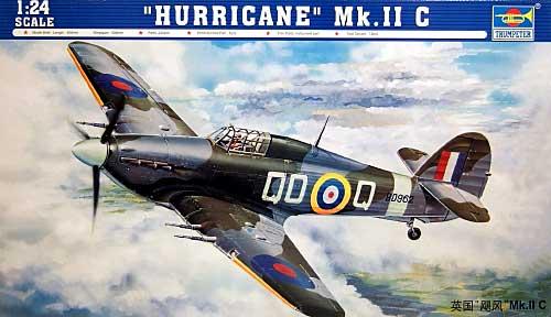 ハリケーン Mk.2cプラモデル(トランペッター1/24 エアクラフトシリーズNo.02415)商品画像