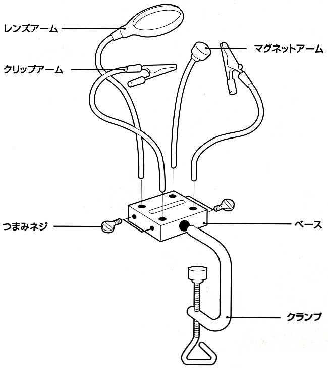 オクトパス クランプクランプ(アイガーツールツール (TOOL×2)No.OC-008)商品画像_1