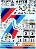 BMW M3 Sport Evo. 1991 DTM デカール