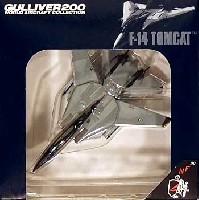 ワールド・エアクラフト・コレクション1/200スケール ダイキャストモデルシリーズF-14A トムキャット VF-154 ブラックナイツ 2000 (NF100)