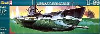 レベルShips(艦船関係モデル)ドイツ海軍 潜水艦 Uボート U-99